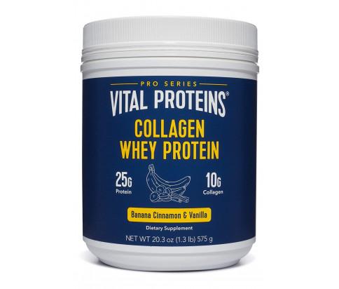 Vital Proteins - Collagen Whey Protein (Banana & Cinnamon, 20.8oz)
