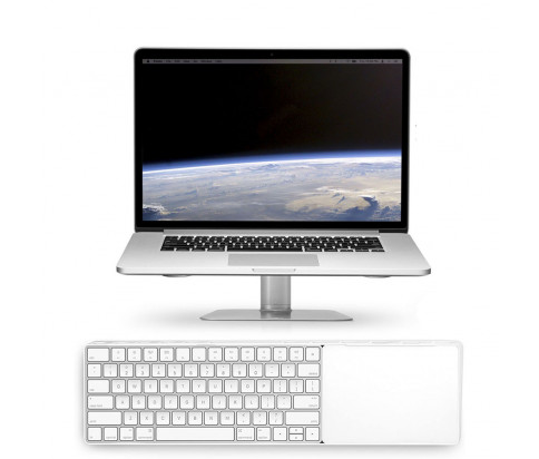 Twelve South bundle with MagicBridge Wireless Keyboard and Trackpad for Apple + HiRise Laptop Stand for MacBook