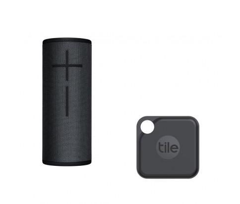 Ultimate Ears Bundle with BOOM 3 - Night Black + Tile Pro (2020) - 1 Pack