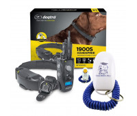 Dogtra 1900S HANDSFREE Discreet and Immediate Control 3/4-Mile IPX9K Waterproof High-Output Ergonomic Remote Dog Training E-Collar with Teacher's Pet Dog Training Clicker for Positive Reinforcement