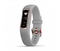 Garmin Vivosmart 4, Gray/Rose Gold, S/M