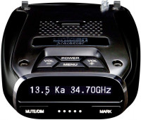 Uniden - DFR7 - Laser Radar Detector with GPS & Red Light Alert