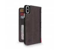 Twelve South - BookBook for iPHone X/XS, Brown