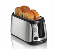 Hamilton Beach - Keep Warm 4-Slice Long Slot Toaster