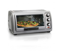 Hamilton Beach - 6 Slice Easy Reach Toaster Oven