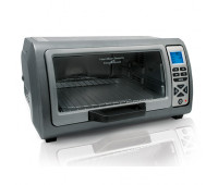 Hamilton Beach - Easy Reach Toaster Oven w/ Roll-Top Door