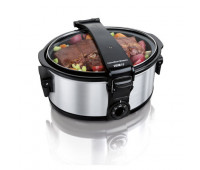 Hamilton Beach - Stay or Go 6 Quart Portable Slow Cooker