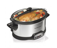 Hamilton Beach - Programmable Stay or Go 6 Quart Slow Cooker