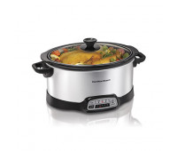 Hamilton Beach - Programmable 7 Quart Slow Cooker