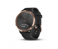 Garmin vivomove HR Sport, Black/Rose Gold, S/M