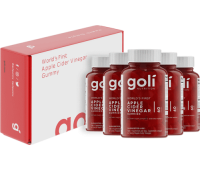 Goli Nutrition - Apple Cider Vinegar Gummy Vitamins - 5 Month Supply