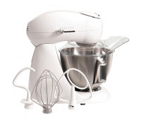 Hamilton Beach - Eclectrics All-Metal Stand Mixer White