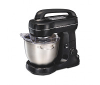 Hamilton Beach - 7-Speed Stand Mixer Black