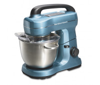 Hamilton Beach - 7-Speed 4qt Stand Mixer Blue