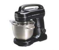 Hamilton Beach - 7-Speed 4qt Stand Mixer Black