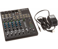 Mackie 802VLZ4 8-Channel Ultra Compact Mixer with 3 Onyx Mic Preamps