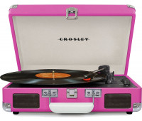 Crosley - Cruiser Deluxe Turntable - Pink
