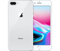 Apple -  iPhoneᅠ8 Plus 64GBᅠ- Silver