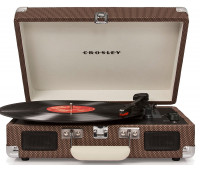 Crosley - Cruiser Deluxe Turntable - Tweed