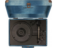 Crosley - Cruiser Deluxe Turntable - Denim