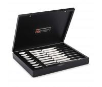 Wüsthof - Stainless 8-Piece Steak Knife Set - Black