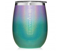 BrüMate - UNCORK'D XL 14oz Wine Tumbler - Glitter Mermaid