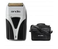 Andis Bundle With ProFoil Lithium Plus Titanium Foil Shaver + Tool Tote Bag