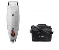 Andis Bundle With Outliner II Square Blade Trimmer + Tool Tote Bag