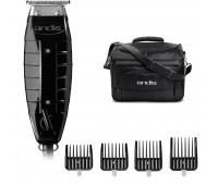 Andis Bundle With GTX T-Outliner T-Blade Trimmer + Snap-On Blade Attachment Combs 4-Comb Set (2) + Tool Tote Bag