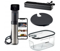 Anova Precision Pro with Container, Lid, and Vacuum Sealer Bundle