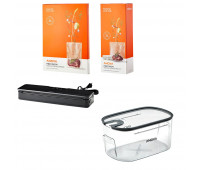 Anova Gold Accessories Bundle - Container, Vacuum Sealer, 1 Pack Rolls & 1 Pack Bags