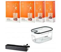 Anova Platinum Accessories Bundle - Container, Vacuum Sealer, 2 Pack Rolls & 2 Pack Bags