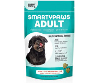 SmartyPaws Dog Vitamin and Supplement Chews for Adults -Peanut Butter