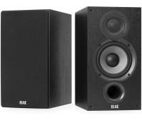 ELAC Debut 2.0 B5.2 Bookshelf Speakers, Black - Pair