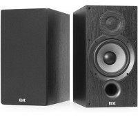 ELAC Debut 2.0 B6.2 Bookshelf Speakers, Black - Pair