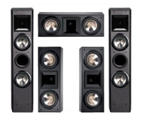 BIC America FH-6T Floorstanding Speakers, FH6-LCR, 5-Channel Home Theater System