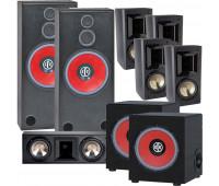 BIC America RTR-1530 7.2 Home Theater System, FH6-LCR + 4 FH-65B + 2 RTR-EV1200