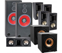 BIC America RTR-1530 7.2 Home Theater System with FH6-LCR + 4 FH-65B + 2 H-100