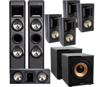 BIC America FH-6T 7.2 Home Theater System with FH6-LCR + 4 FH-65B + 2 H-100
