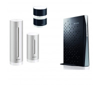 Netatmo bundle with Netatmo Weather Station, NWS01-US +  Wind Gauge for Netatmo Weather Station + TP-LINK Archer CR700 AC1750 Wireless Dual Band 16x4 DOCSIS 3.0 Cable Modem Router