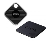 Cube Pro Waterproof Smart Bluetooth Tracking Device and Cube Shadow Bluetooth Locator Bundle