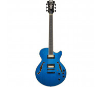 D'Angelico - Premier Fabrizio Sotti SS 6-String Single-Cutaway Fully Hollow Body Electric Guitar with Stopbar Tailpiece