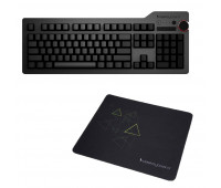 Das Keyboard 4 Ultimate Mechanical Keyboard  + Das Keyboard Triangle Mouse Pad