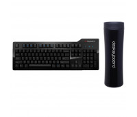 Das Keyboard Bundle With Model S Professional Mechanical Keyboard  + Das Keyboard Stainless Steel Tumbler