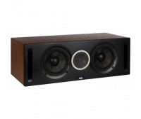 ELAC Debut Reference DCR52 Center Channel Speaker - Black/Walnut
