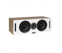 ELAC Debut Reference DCR52 Center Channel Speaker - White/Oak