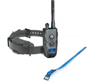 "Dogtra 1900S Black Edition Remote Trainer Bundle With Dogtra 1"" X 30"" Collar Strap - Blue"