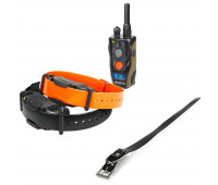 "Dogtra 1902S Two-Dog Remote Trainer Bundle With Dogtra 1"" X 30"" Collar Strap - Black"