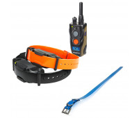 "Dogtra 1902S Two-Dog Remote Trainer Bundle With Dogtra 1"" X 30"" Collar Strap - Blue"