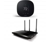 ecobee3 lite Smart Thermostat, 2nd Gen, Black + TP-Link AC1900 Smart WiFi Router